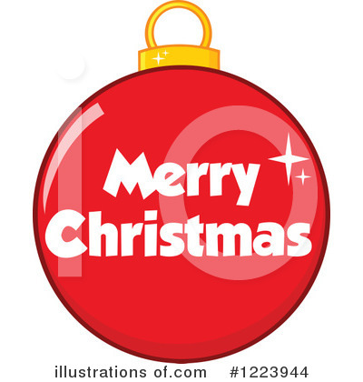 Royalty-Free (RF) Christmas Bauble Clipart Illustration by Hit Toon - Stock Sample #1223944