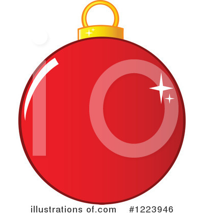 Bauble Clipart #1223946 by Hit Toon