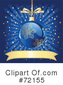 Royalty-Free (RF) Christmas Bauble Clipart Illustration #72155
