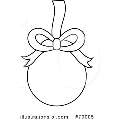 Christmas Ball Ornament Outline Royalty-free (rf) christmas