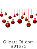 Christmas Baubles Clipart #81675 by KJ Pargeter