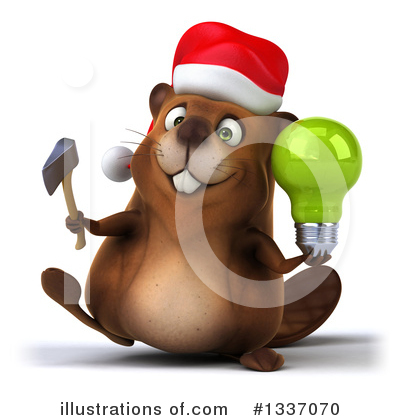 Beaver Clipart #1337070 by Julos
