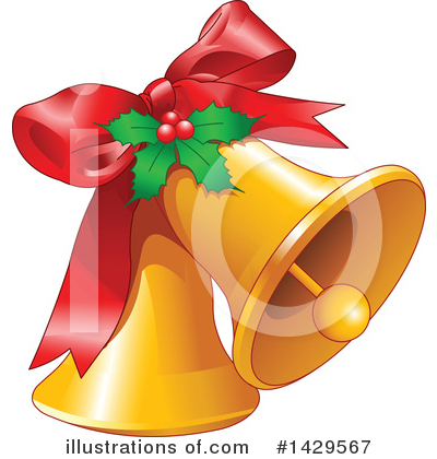 Christmas Bells Clipart #1429567 by Pushkin