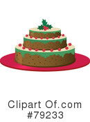 Christmas Cake Clipart #79233 by Melisende Vector