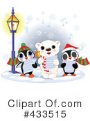 Royalty-Free (RF) Christmas Caroling Clipart Illustration #433515