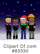 Christmas Caroling Clipart #83330 by Pams Clipart