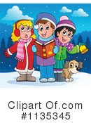 Christmas Carols Clipart #1135345 by visekart