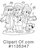 Christmas Carols Clipart #1135347 by visekart