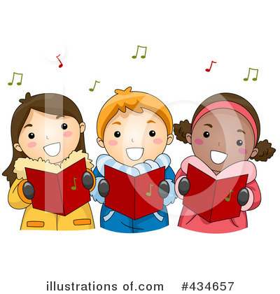 Christmas Carols on Christmas Carols Clipart  434657 By Bnp Design Studio   Royalty Free