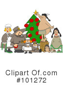 Royalty-Free (RF) Christmas Clipart Illustration #101272