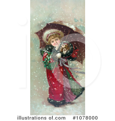 Royalty-Free (RF) Christmas Clipart Illustration by JVPD - Stock Sample #1078000
