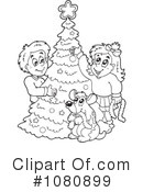 Christmas Clipart #1080899 by visekart