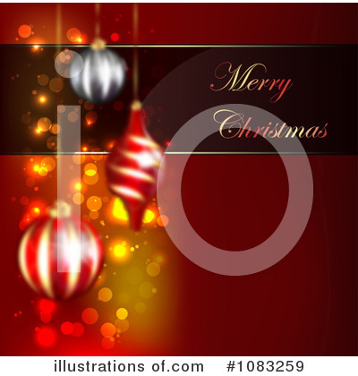 Christmas Background Clipart #1083259 by vectorace