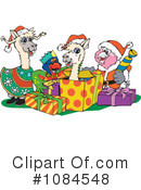 Royalty-Free (RF) christmas Clipart Illustration #1084548