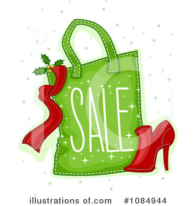 Christmas Shopping Clipart #1084944 by BNP Design Studio