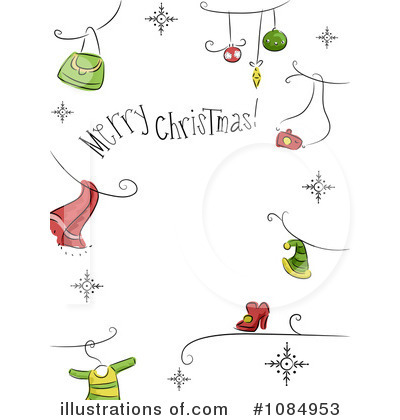 Merry Christmas Clipart #1084953 by BNP Design Studio