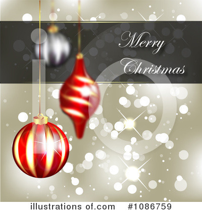 Christmas Background Clipart #1086759 by vectorace