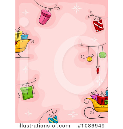 Christmas Background Clipart #1086949 by BNP Design Studio