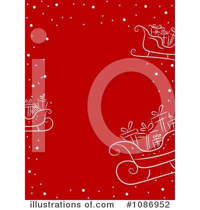 Christmas Background Clipart #1086952 by BNP Design Studio
