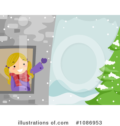 Christmas Background Clipart #1086953 by BNP Design Studio