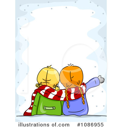 Christmas Background Clipart #1086955 by BNP Design Studio