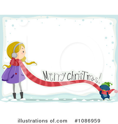 Merry Christmas Clipart #1086959 by BNP Design Studio