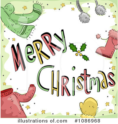 Merry Christmas Clipart #1086968 by BNP Design Studio