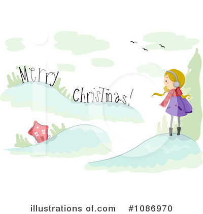 Merry Christmas Clipart #1086970 by BNP Design Studio