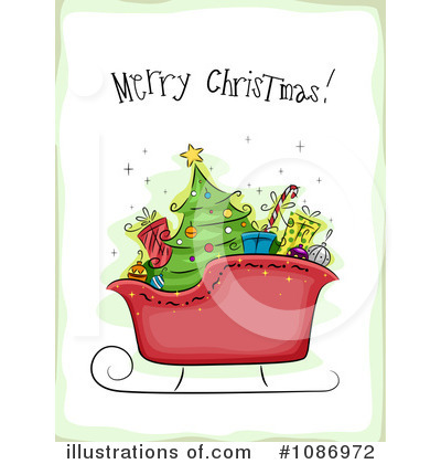 Christmas Tree Clipart #1086972 by BNP Design Studio