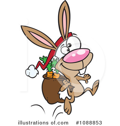 Rabbit Clipart #1088853 by toonaday
