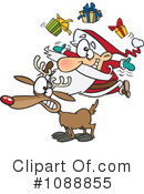 Royalty-Free (RF) christmas Clipart Illustration #1088855