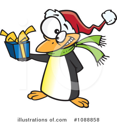 Penguin Clipart #1088858 by toonaday