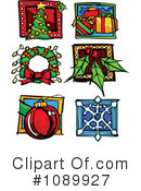Royalty-Free (RF) Christmas Clipart Illustration #1089927