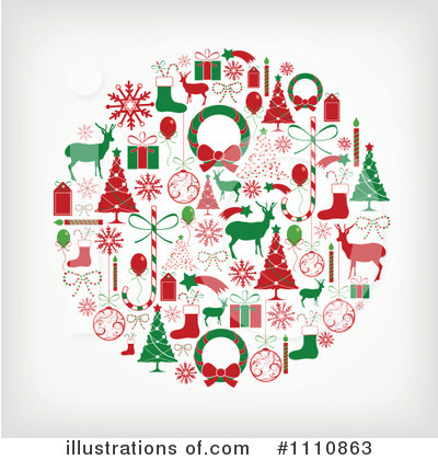Christmas Tree Clipart #1110863 by OnFocusMedia