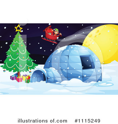 Santa Clipart #1115249 by Graphics RF