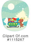 Royalty-Free (RF) Christmas Clipart Illustration #1115267
