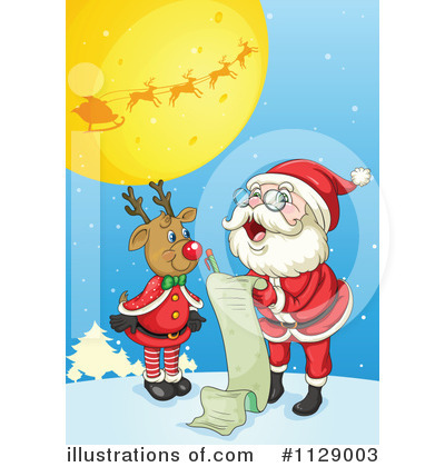 Santa Clipart #1129003 by Graphics RF