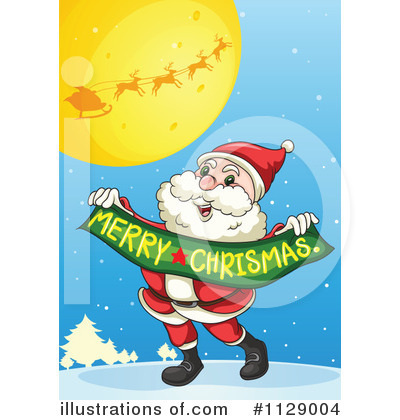 Santa Clipart #1129004 by Graphics RF