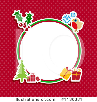 Christmas Gift Clipart #1130381 by KJ Pargeter