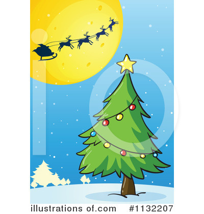 Santa Clipart #1132207 by Graphics RF
