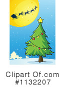 Royalty-Free (RF) Christmas Clipart Illustration #1132207