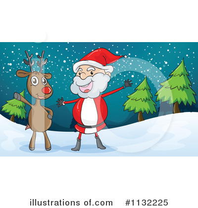 Royalty-Free (RF) Christmas Clipart Illustration by Graphics RF - Stock Sample #1132225