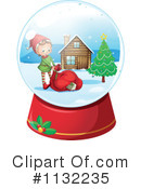 Royalty-Free (RF) Christmas Clipart Illustration #1132235