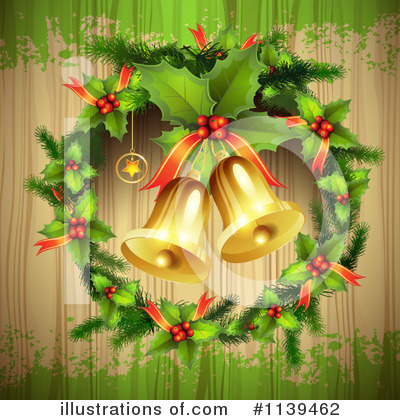 Christmas Bells Clipart #1139462 by merlinul