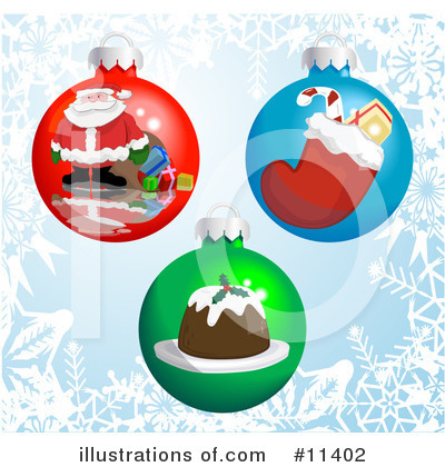 Santa Clipart #11402 by AtStockIllustration