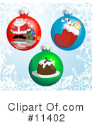 Royalty-Free (RF) Christmas Clipart Illustration #11402