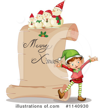 Christmas Clipart #1140930 by Graphics RF
