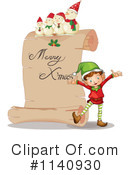 Royalty-Free (RF) Christmas Clipart Illustration #1140930