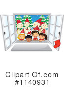 Royalty-Free (RF) Christmas Clipart Illustration #1140931