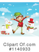 Royalty-Free (RF) Christmas Clipart Illustration #1140933